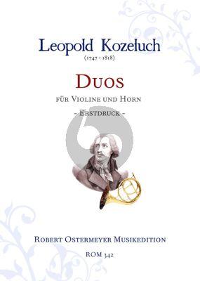 Duos Violin-Horn