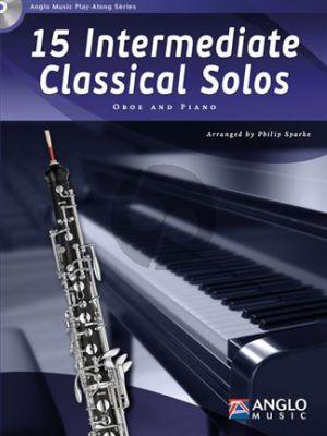15 Intermediate Classical Solos Oboe-Piano