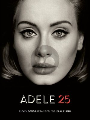 Adele 25 easy piano