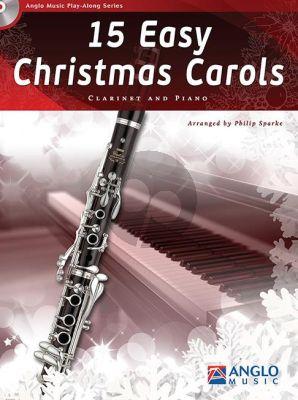 15 Easy Christmas Carols Clarinet-Piano