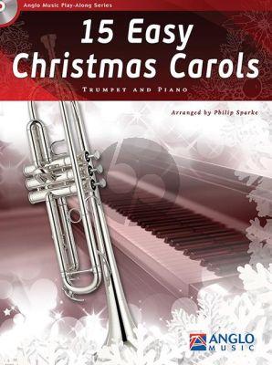 15 Easy Christmas Carols Trumpet-Piano