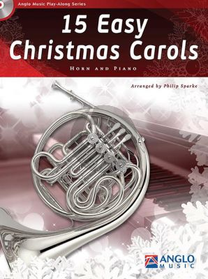 15 Easy Christmas Carols Horn-Piano