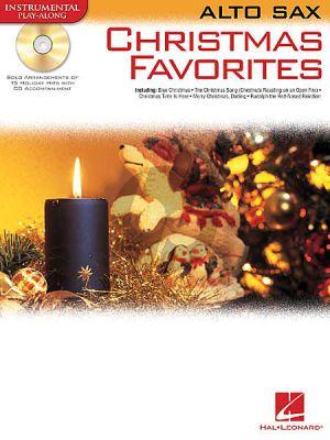 Christmas Favorites Alto Sax.