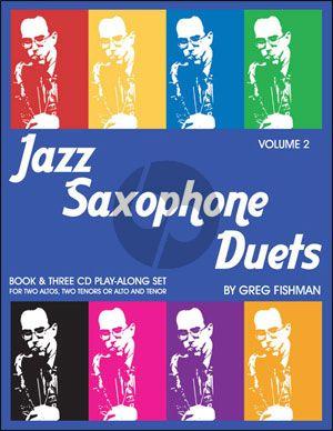Jazz Saxophone Duets Vol.2