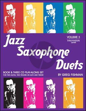 Jazz Saxophone Duets Vol.3