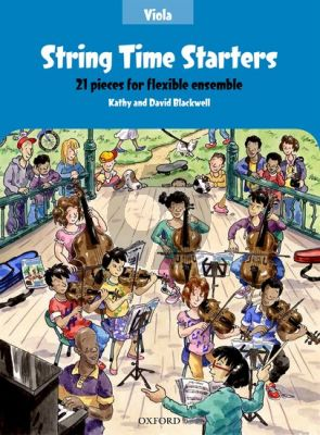 Blackwell String Time Starters (21 easy pieces for flexible Ensemble Viola Book