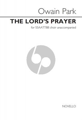 The Lord's Prayer SSAATTBB/Choral (SATB)