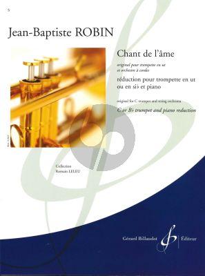 Chant de l'âme Trumpet[Bb/C]-String Orch.