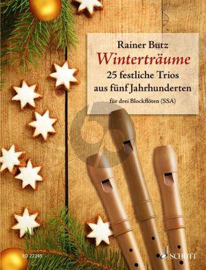 Winterträume (25 festliche Trios aus fünf Jahrhunderte