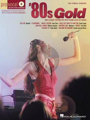 80's Gold (Pro Vocal Women's Ed. Vol.4) (Bk-Cd)