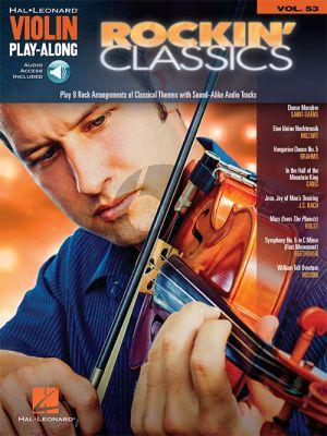 Rockin' Classics (Violin Play-Along Series Vol.53)