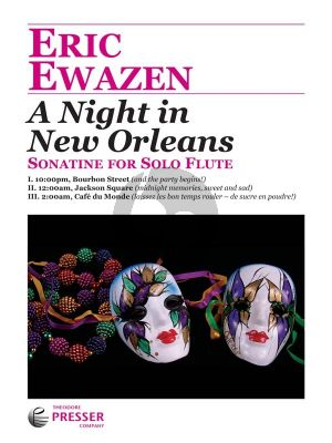 A Night In New Orleans (Sonatine) for Solo Flute
