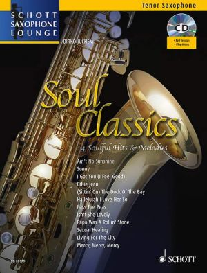 Soul Classics (14 Soulful Hits & Melodies) Tenor Sax-Piano