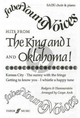 Rodgers-Hammerstein Hits from Oklahoma and King and I SA[B]-Piano