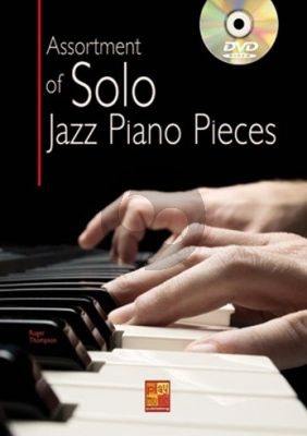 Assortment Of Solo Jazz Piano Pieces (Book-DVD)