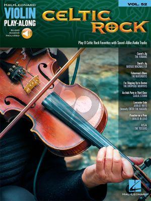 Celtic Rock (Violin Play-Along Series Vol.52)