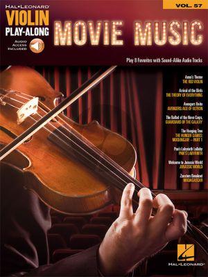 Movie Music (Violin Play-Along Series Vol.57)