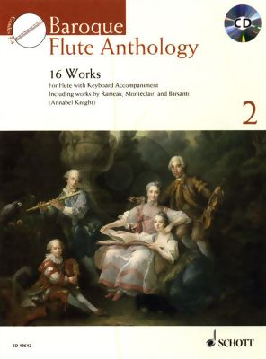 Baroque Flute Anthology for Flute Vol.2 (25 Works)