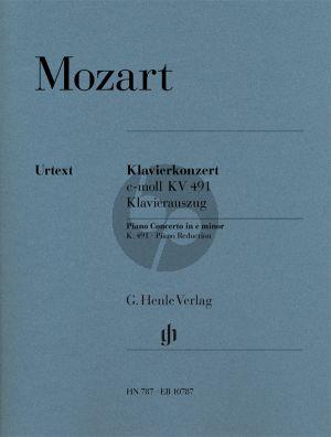 Mozart Concerto in c-minor KV 491Piano-Orchestra (piano red.) (Henle)