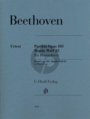 Beethoven Parthia Op.103 and Rondo WoO 25 Parts (Henle)