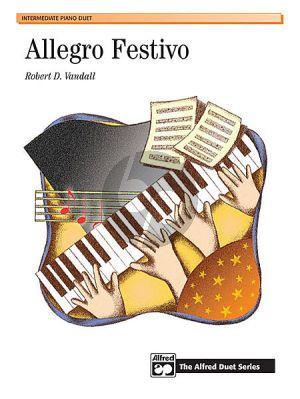 Vandall Allegro Festivo Piano 4 hands