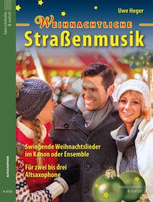 Weihnachtliche Strassenmusik (Swingende Weihnachtslieder) (Heger)