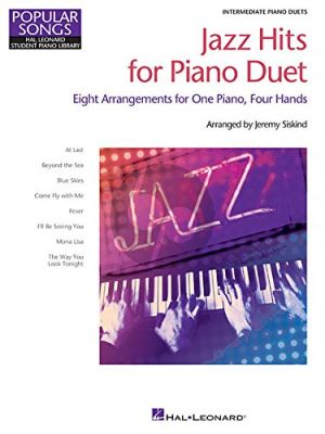 Jazz Hits for Piano Duet (Hal Leonard Student Piano Library) (Siskind)