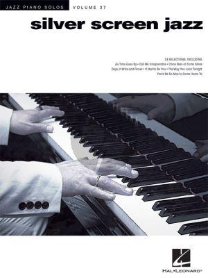 Silver Screen Jazz (Jazz Piano Solos Series Vol.37)