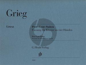 Grieg Peer Gynt Suiten Piano 4 Hds  (Henle)