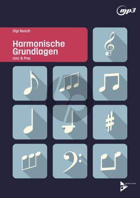 Busch Harmonische Grundlagen (Jazz & Pop) (Lehrbuch mit MP3)