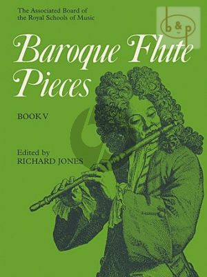 Baroque Flute Pieces Vol.5 Flute and Piano
