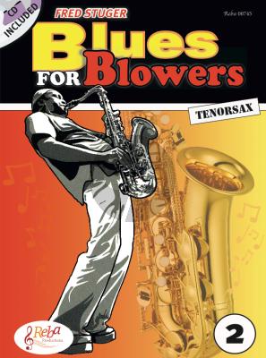 Stuger Blues for Blowers Vol.2 Tenorsax. (Bk-Cd)