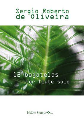 Oliviera 12 Bagatelles Flute Solo