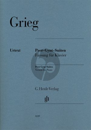 Grieg Peer Gynt Suiten Piano Solo (Henle)