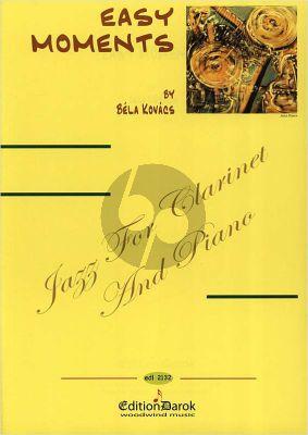 Kovacs Easy Moments Clarinet-Piano