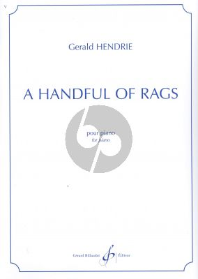 Hendrie  A handfull of Rags Piano