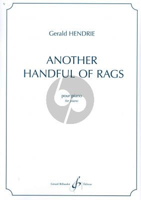 Hendrie Another handful of Rags Piano
