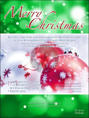 Erhart-Schwertmann Merry Christmas 1-3 Melody Instr.-Piano (Score/Parts)