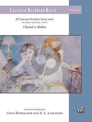 Essential Keyboard Duets Vol.8