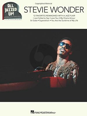 Stevie Wonder – All Jazzed Up! Piano Solo