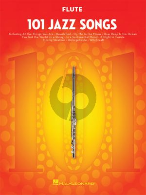 101 Jazz Songs for Flute