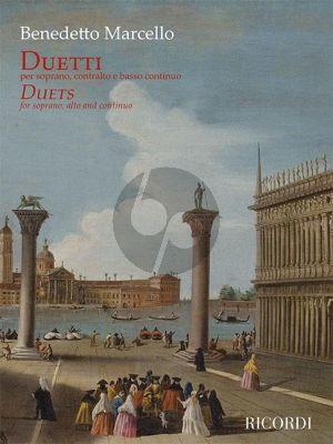 Marcello Duetti - Duets for Soprano- Alto Voice with Continuo