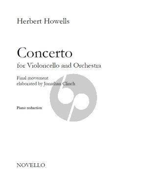 Howells Cello Concerto Final Movement Violoncello-Piano