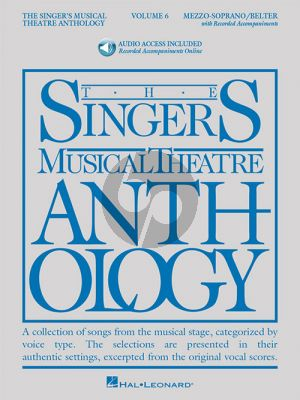 The Singer's Musical Theatre Anthology Vol.6 Mezzo-Soprano/Belter