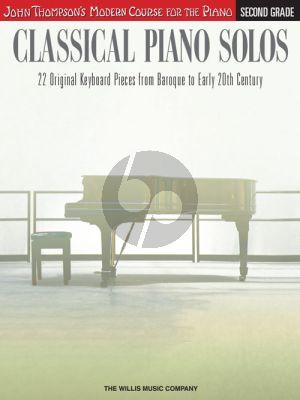 Thompson Classical Piano Solos Second Grade