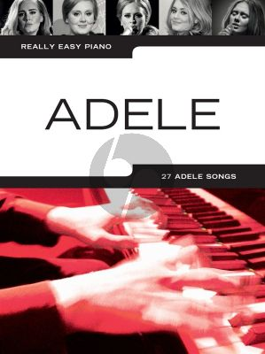 Really Easy Piano Adele