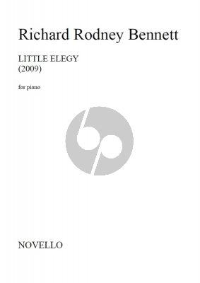 Bennett Little Elegy Piano Solo