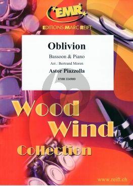 Piazzolla Oblivion Bassoon-Piano