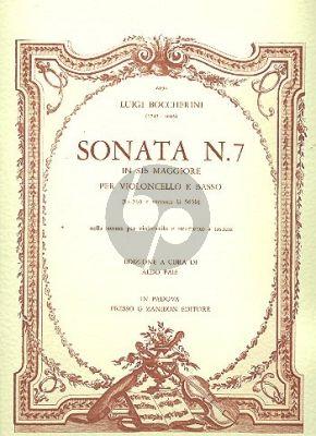 Boccherini Sonata No.7 B-flat major G.565 Violoncello-Bc