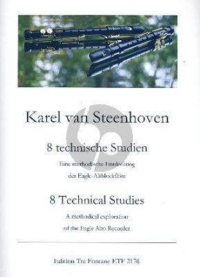 Steenhoven 8 technischen Studien Eagle Altblockflöte